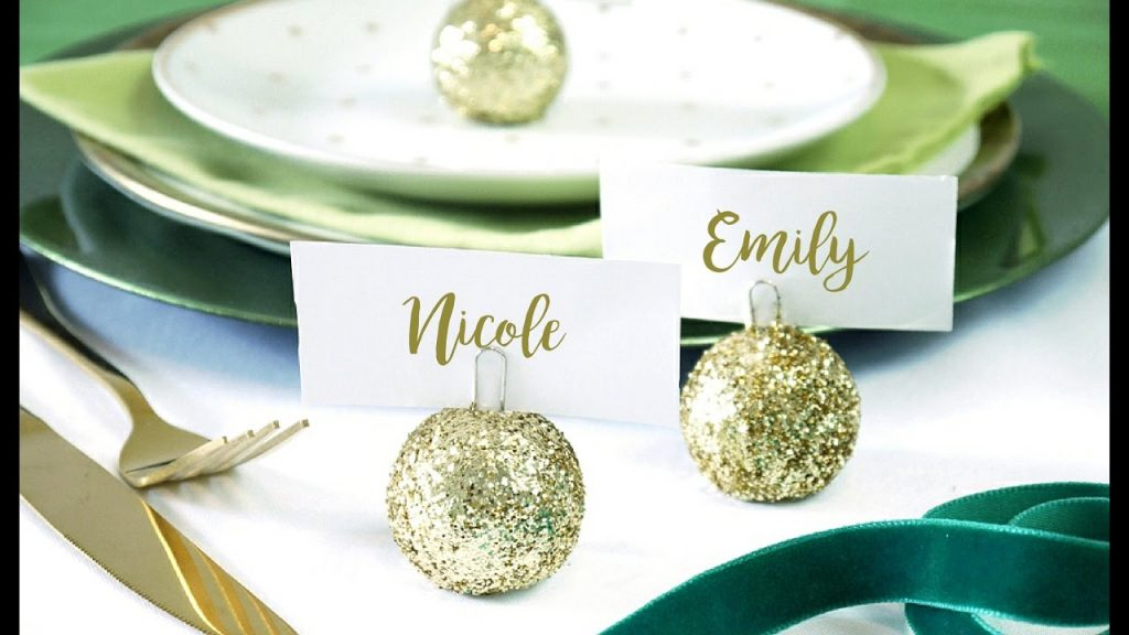 Holiday Tabletop Accents