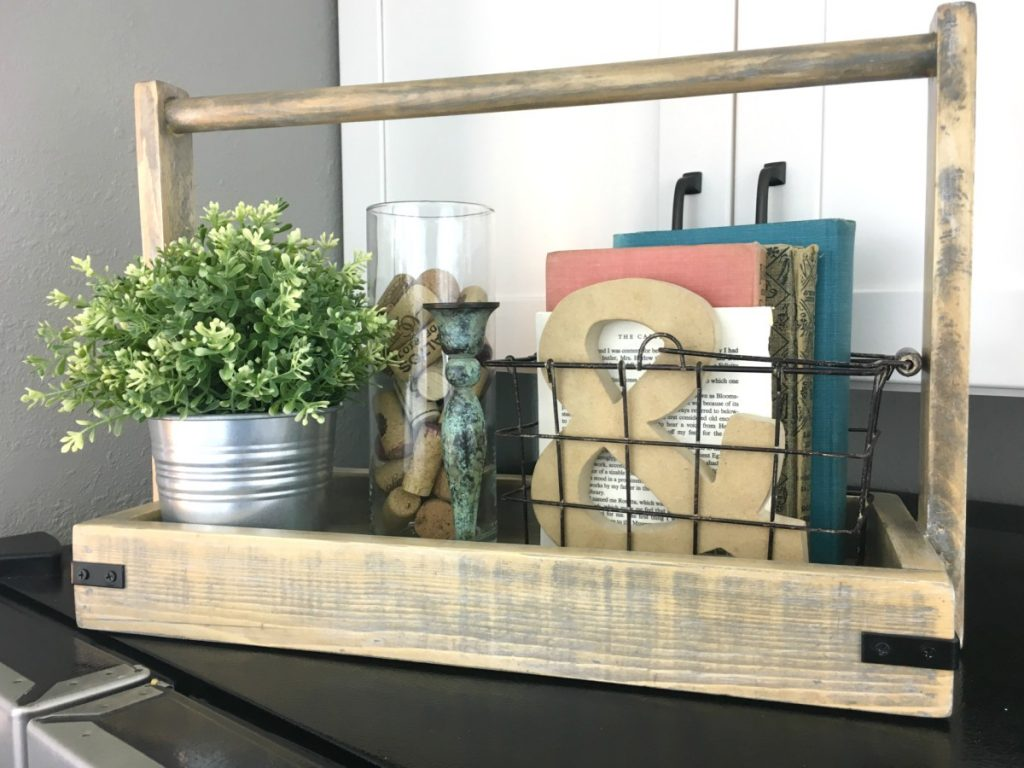 Tall-Handled Caddy for Top of Fridge