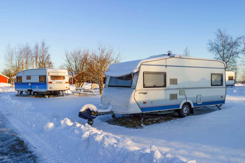 Maintain Caravan in Winter